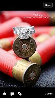 Shot gun shell ring picture @ Megan Walker