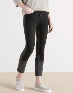 :SKINNY JEANS WITH PATCH