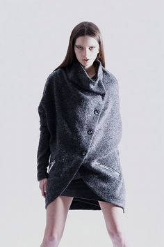 SHIROMA, AW11: podcoat. #shiroma #outerwear
