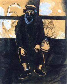 War - Marc Chagall - 1915.