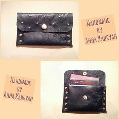 Handmade business card holder(purse) by me :) #leatherpurse #leather #кожаныйкошелек #businesscardholder #визитница #ручнаяработа #fashion #stylish #decoration #metaldecoration #design #designer #дизайн #дизайнер #handmadebusinesscardholder #handmadepurse Handmade #purse #greatwork #handwork #beautiful #color #byannakareyan #Dnepropetrovsk #Ukraine #2015