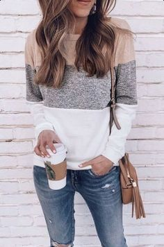 Cute Fall Outfits, Fall Fashion Outfits, Simple Outfits, Spring Outfits, Casual Outfits, Jean Outfits, Women's Fall Fashion, Casual Brunch Outfit, Winter Outfits Women 20s