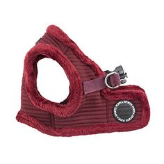 Puppia Troy Harness-B for Pets, Wine, Medium ** Additional details @