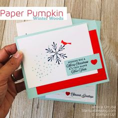 Super Simple Sketch with Paper Pumpkin Winter Woods Stamp a blessing: super simple sketch with winter wood pumpkin paper … Homemade Christmas Cards, Christmas Paper, Christmas 2019, Handmade Christmas, Pumpkin Cards, Paper Pumpkin, Cards For Men Handmade, Paper Mache Crafts, Card Making Tips