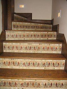 Advice On Tiling Stair Risers   Ceramic Tile Advice Forums   John Bridge  Ceramic Tile
