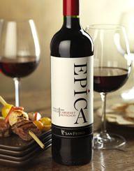Epíca, Chile VSPT Wine Group Wine Label & Package Design, Identity, Tasting Cards, Shelf Talkers & Case Card by CF Napa Brand Design