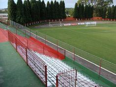 Estádio Castanheiras - Farroupilha (RS) - Capacidade: 5 mil - Clube: Brasil