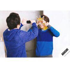 Ohno Satoshi × Ninomiya Kazunari♡