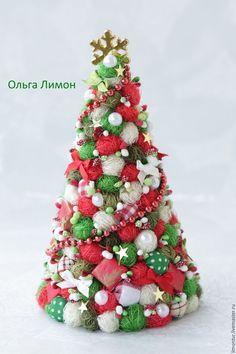 """Купить Елочка """"Шотландка"""" !!! - разноцветный, шотландская клетка, шотландка, елка новогодняя, елка"""