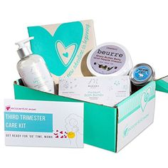 Ecocentric Mom Pregnancy Gift Box - Third Trimester Maternity Gifts With Pregnancy Bath Bombs, Sleep Slave Oil, Leg & Foot Cream, Tote Bag and Nipple Cream //Price: $ //     #onlineshopping