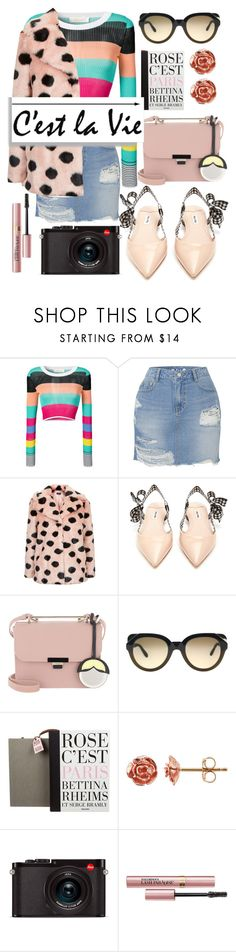 """Such is Life"" by nikkimmorrison ❤ liked on Polyvore featuring Diane Von Furstenberg, SJYP, Topshop, Miu Miu, Furla, Givenchy, Taschen, Leica, L'Oréal Paris and denimskirts"