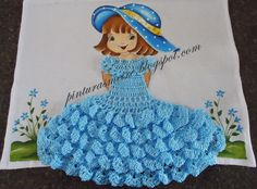 almofada de boneca - Pesquisa Google Crochet Dollies, Crochet Doll Dress, Crochet Doll Clothes, Crochet Baby, Thread Crochet, Filet Crochet, Tatting, Baby Quilt Tutorials, Ribbon Embroidery