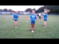 Simple, clean cheer dance (love the claps)