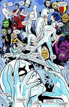Silver Surfer by Mike Allred *