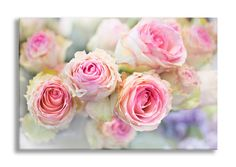 Paris Roses Photograph on Canvas Paris Romance by GeorgiannaLane
