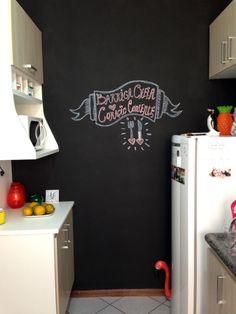 10 dicas para você pintar a sua parede lousa. / Chalkboard Wall.