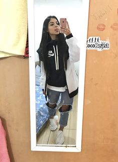 Grunge Outfits, Girl Outfits, Casual Outfits, Cute Outfits, Fashion Outfits, Look Fashion, Girl Fashion, Womens Fashion, Skater Girls