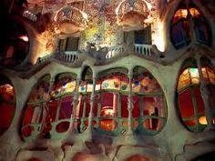 Gaudí...detalles casa Batlló de Barcelona