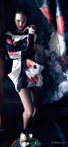 Blumarine FW 2013 Campaign Featuring Candice Swanepoel