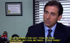 His words were profound, like Socrates. | The 37 Wisest Things Michael Scott Ever Said