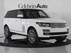 2014 Range Rover Autobiography, White.