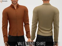 0ad5248d6ee Elliesimple - Valentine Shirt - The Sims 4 Download - SimsDomination Sims 4  Mm