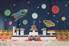 La fiesta del espacio exterior