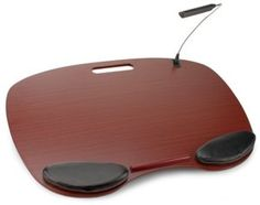 Ergonomic Lap Desk with Wrist Pads from Barnes & Noble