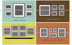 Cómo colocar un conjunto de cuadros | Decorar tu casa es facilisimo.com Home Decor Bedroom, Home Living Room, Living Room Designs, Ikea Ps Cabinet, Barbacoa, Floating Frame, Family Pictures, Salons, Sweet Home