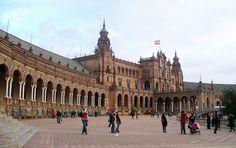 Linda cidade de Sevilha Espanha.