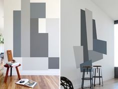 Color Block wall decals by Mina Javid
