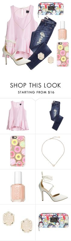 """♔ we are never too old to watch Disney movies ♔"" by kari-luvs-u-2 ❤ liked on Polyvore featuring Cynthia Rowley, Casetify, Kendra Scott and Essie"