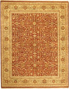 This high end rug is finely woven in the style and fashion of the old world masters. Its antique look has been highly sought after, especially for today's most prestigious designers and their clients. Adding this rug to your home is sure to be the...