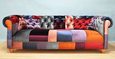 Patchwork chesterfield