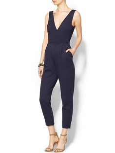 Jumpsuits are everything right now as seen at the People's Choice Awards and the Golden Globes. This one is so chic...