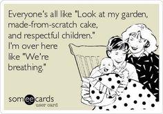 Parenting- the bare minimum