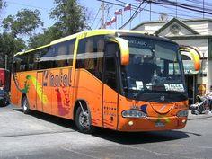 Irizar Century, con chasis Volvo B10. Buses Linatal