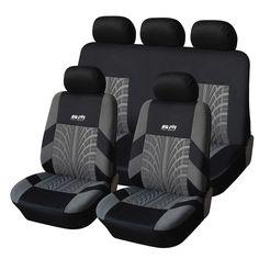 Heavy Duty Black Waterproof Car Seat Covers BUCKET seats 2 x Fronts