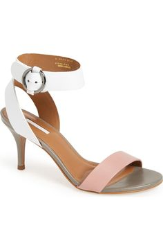 Head over heels for these ankle strap sandals from Topshop! The combination of white and pink is both playful and chic.