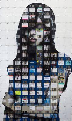 NICK GENTRY http://www.widewalls.ch/artist/nick-gentry/ #contemporary #art