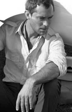 Jude Law - gorgeous and has the most amazing voice