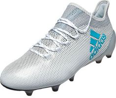 newest bc0c3 39afe adidas X 17.1 FG Soccer Cleats - White Soccer Cleats
