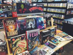 Thrills, spills, and chills. Spooky reading waiting for you at Zia.