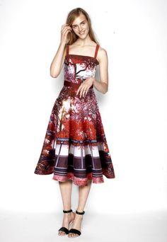 Beautiful design in thas gorgeous dress... Mary Katrantzou for Lyst