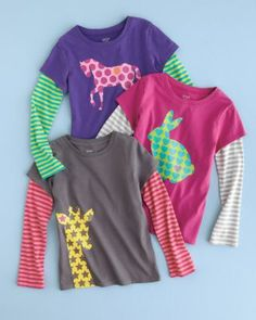 Picture-Perfect Knit Tee - Baby Girls & Girls. These would be so cute for Camdyn!