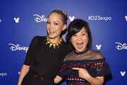 Actors Pom Klementieff of AVENGERS: INFINITY WAR (L) and Kelly Marie Tran of STAR WARS: THE LAST JEDI took part today in the Walt Disney Studios live action presentation at Disney's D23 EXPO 2017 in Anaheim, Calif. AVENGERS: INFINITY WAR will be released in U.S. theaters on May 4, 2018 and STAR WARS: THE LAST JEDI will be released in U.S. theaters on December 15, 2017.