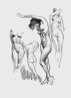 Figure drawing for all its worth - andrew loomis Male Figure Drawing, Female Drawing, Figure Sketching, Figure Drawing Reference, Body Drawing, Life Drawing, Female Art, Drawing Sketches, Art Drawings