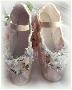 woodland fairy ballet slippers, magical slippers,  leather ballet flats, Made to Order