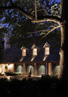 When properly done, garage lighting can significantly boost evening curb appeal and deter thieves. See our popular garage lighting ideas to enhance a home. Outdoor Garage Lights, Garage Door Lights, Garage Lighting, Exterior Lighting, Outdoor Lighting, Lighting Ideas, Unique Garage Doors, Landscape Curbing, Landscape Lighting Design