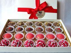 Brigadeiro Bakery's Valentine's Special 24 Brigadeiro Box.    www.brigadeirobakery.com